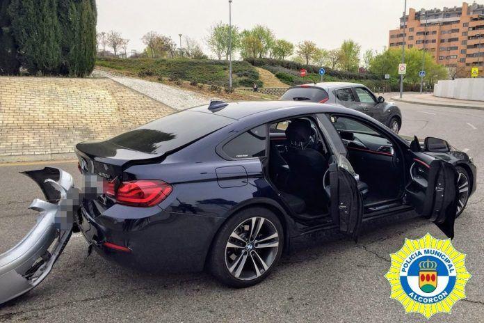 Otro accidente en Fuente Cisneros en Alcorcón