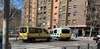 Accidente de circulación en Alcorcón