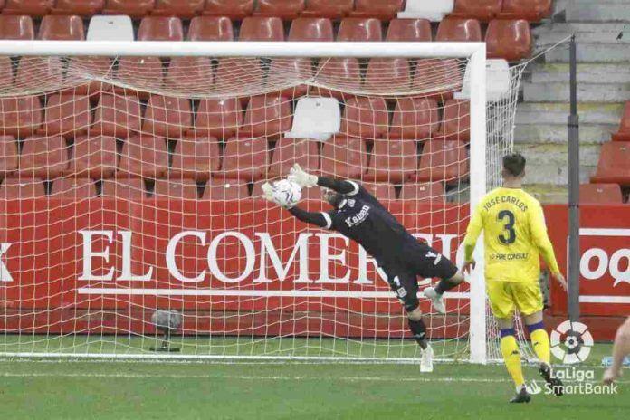Sporting 0-0 Alcorcón / Dani Jiménez rescata un punto para el Alcorcón en Gijón