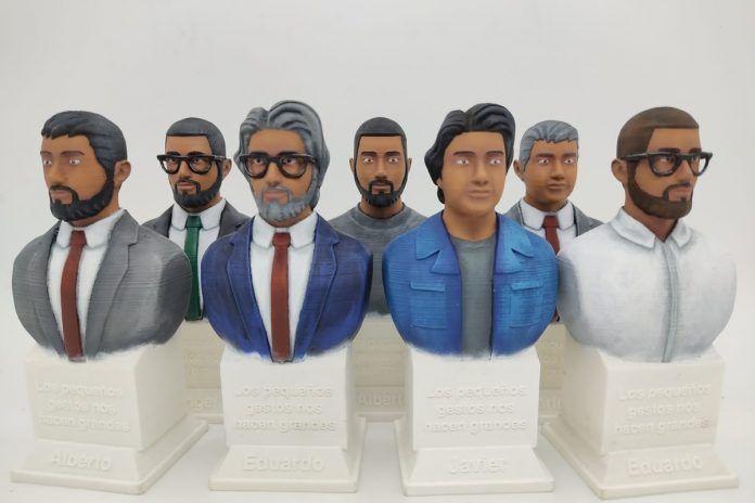 Mundo Impresora 3D: el futuro en las aulas en Alcorcón