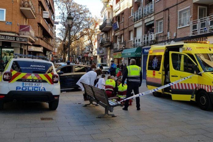 Un hombre sufre un infarto en pleno centro de Alcorcón