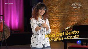 La maravillosa actuación en televisión de Noa, una joven cantante de Alcorcón