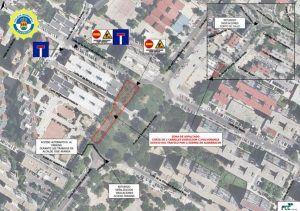 Nuevos cortes de tráfico por obras en Alcorcón