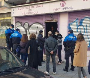 Ordenan desalojar un local okupado en Alcorcón
