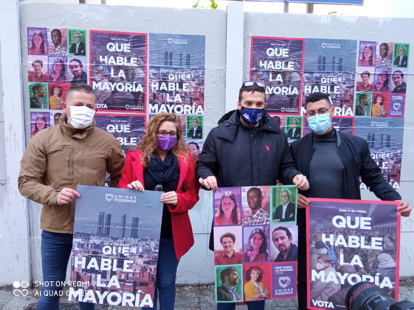 Alcorcón inicia la campaña electoral del 4M