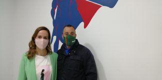 "Isabel Pérez, candidata de Vox, en Alcorcón: ""Hay gente de Podemos que ahora nos va a votar"""