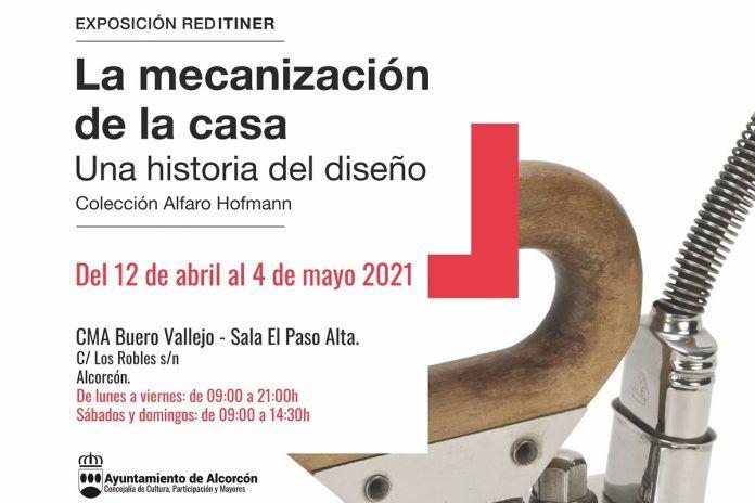 Nueva exposición de diseño del 12 de abril al 4 de mayo en Alcorcón
