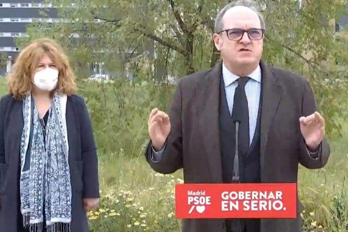 """Ángel Gabilondo visita Alcorcón: """"Hay que parar esta espiral de extremismo y confrontación"""""""