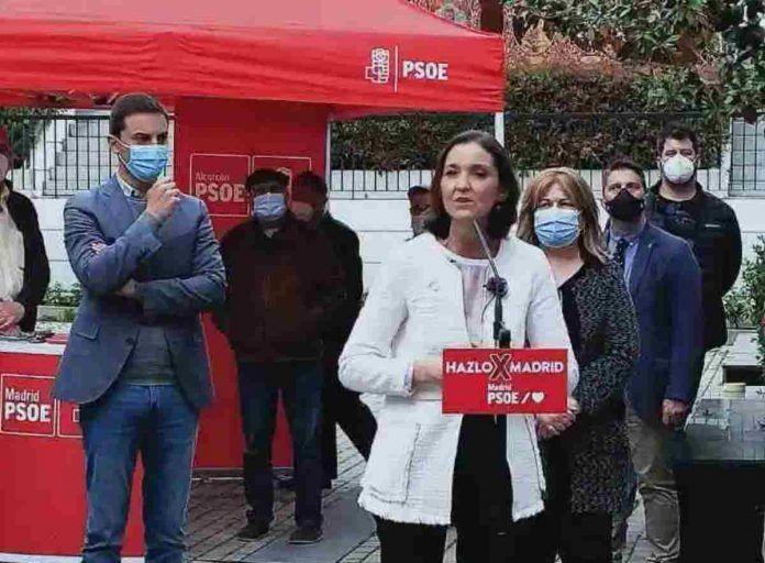 """Reyes Maroto en Alcorcón """"El sur de Madrid también existe"""""""