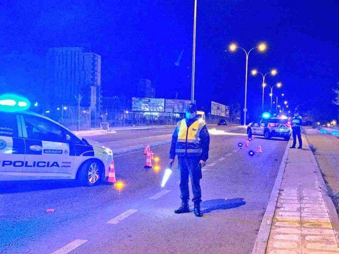 La primera noche de Semana Santa dejó 34 propuestas de sanción en Alcorcón