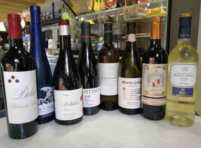 Un buen vino en torno a una buena mesa en Alcorcón