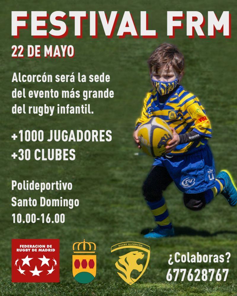 Alcorcón sede del Festival Generación Rugby Madrid