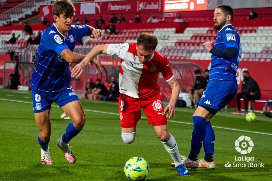Girona 1-0 Alcorcón/ Monchu obliga al Alcorcón a jugársela contra el Espanyol