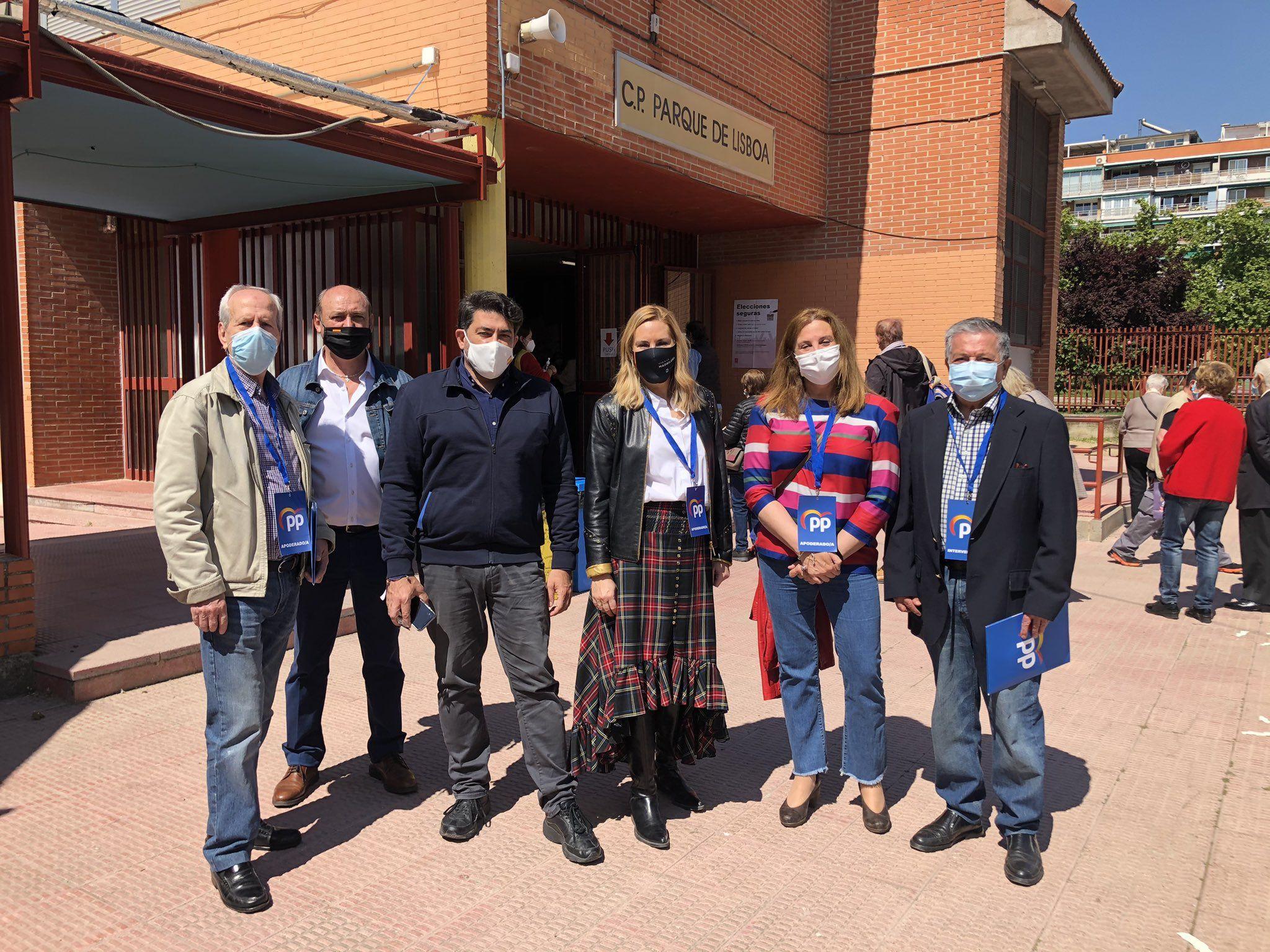 Los políticos de Alcorcón animan a la participación en la jornada electoral