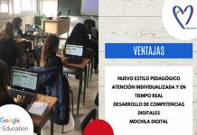 Un ordenador por niño en las aulas del Colegio Amor de Dios de Alcorcón