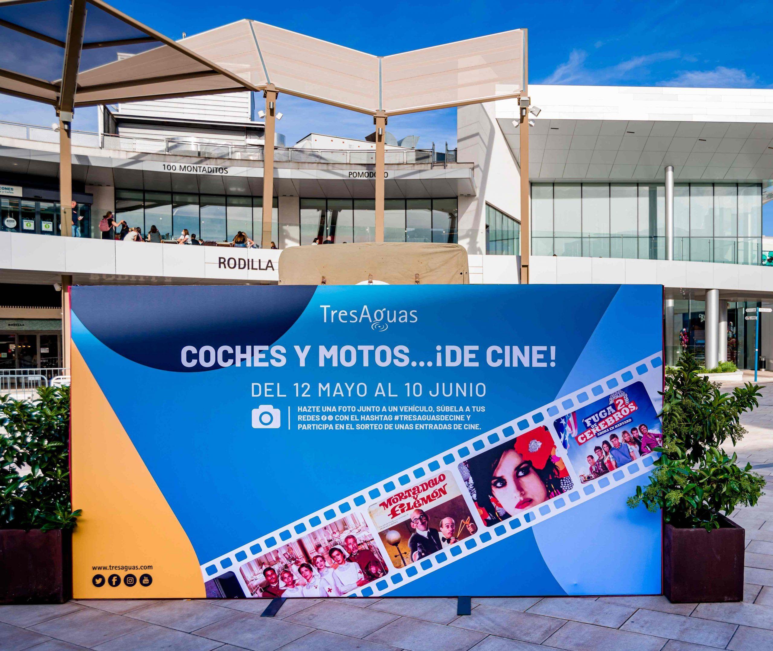 Coches y motos de cine en el CC Tres Aguas de Alcorcón