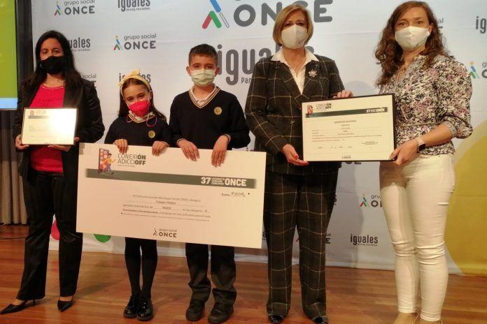 El Colegio Villalkor de Alcorcón gana el Concurso Escolar de la ONCE