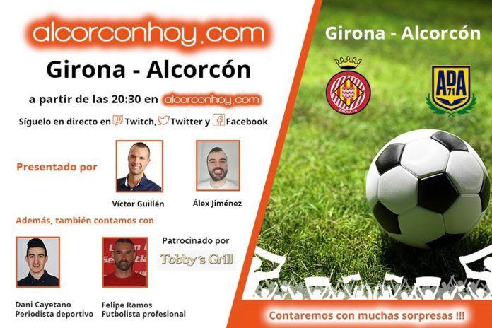 Sigue en directo el Girona vs. Alcorcón en alcorconhoy.com