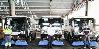 Alcorcón mejora sus servicios de limpieza en la ciudad