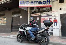 'Movidas en Moto', el youtuber de Alcorcón que recorre el mundo sobre dos ruedas