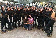 Las chicas del Club Patín Alcorcón, campeonas de la Copa de España de patinaje artístico