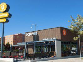 Abre Popeyes, nuevo restaurante de pollo y comida americana en Alcorcón