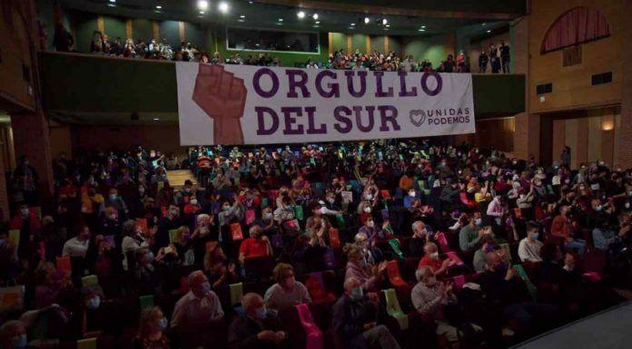 """Pablo Iglesias en Alcorcón """"El día 4 tiene que haber una lección democrática"""""""