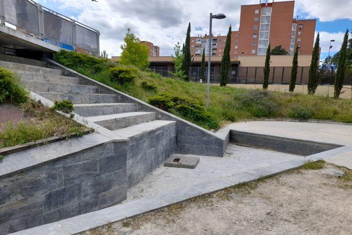 Diversas mejoras en un parque de Alcorcón