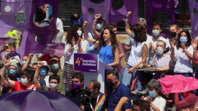 En Alcorcón se culmina la sucesión de Iglesias con la victoria de Ione Belarra