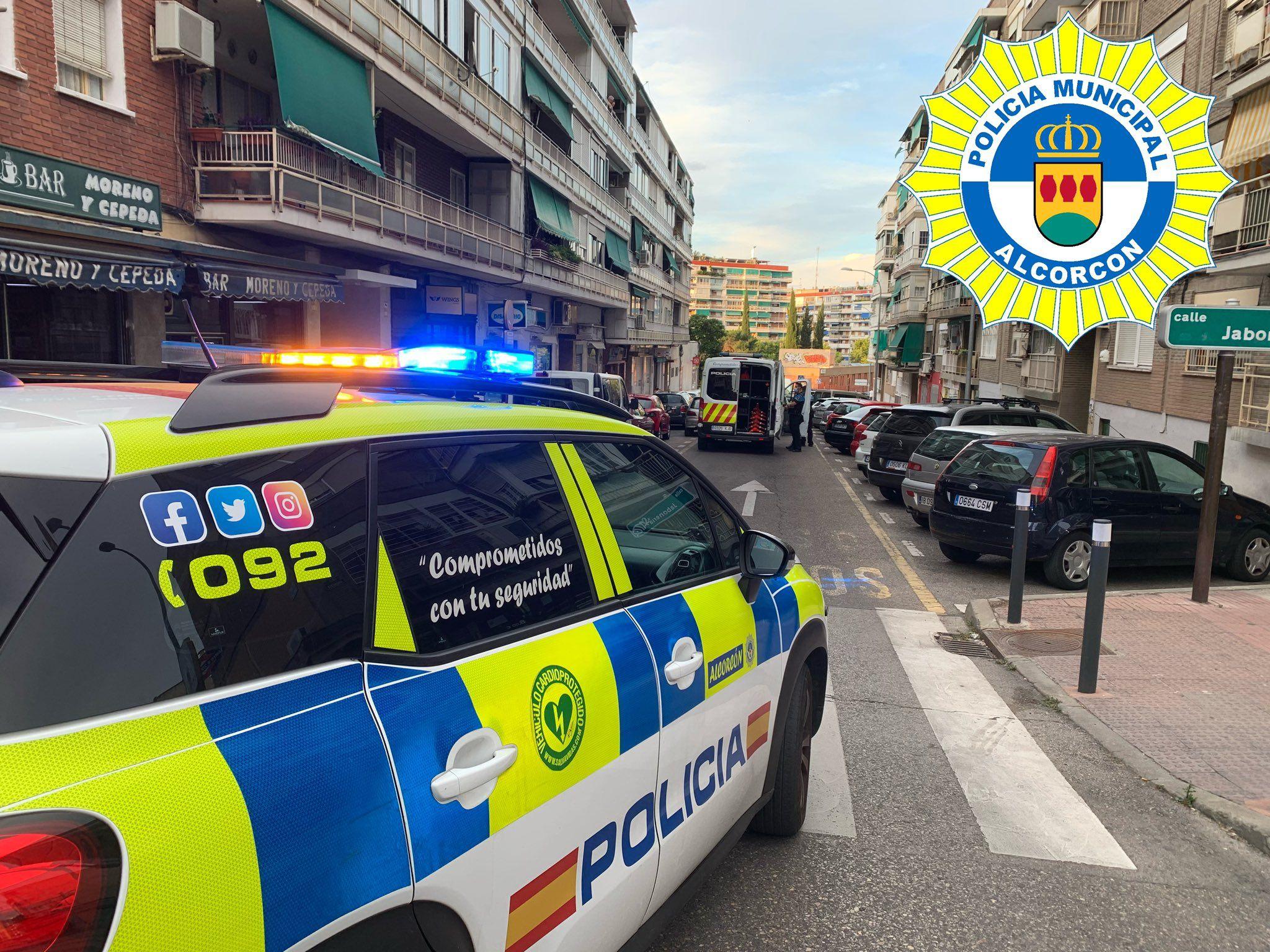 Al volante por Alcorcón tras esnifar cocaína