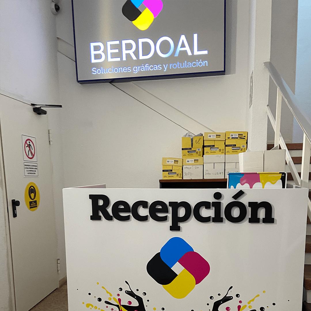 En Alcorcón si lo imaginamos, Berdoal nos lo imprime