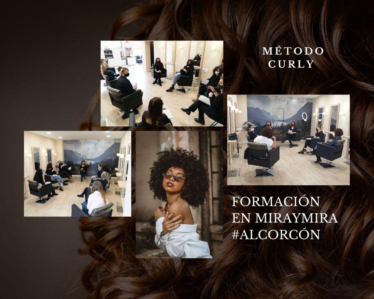 metodo Curly girl en Salones Mira y Mira Alcorcon