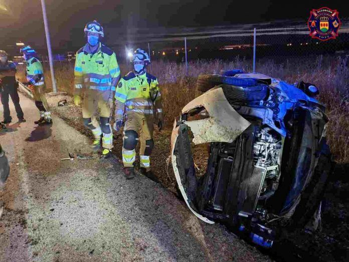 Severos accidentes de tráfico en Alcorcón