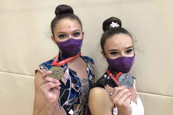 Carolina Domínguez e Irene Cerro, gimnastas de Alcorcón, triunfan en Madrid y estarán en el Campeonato de España
