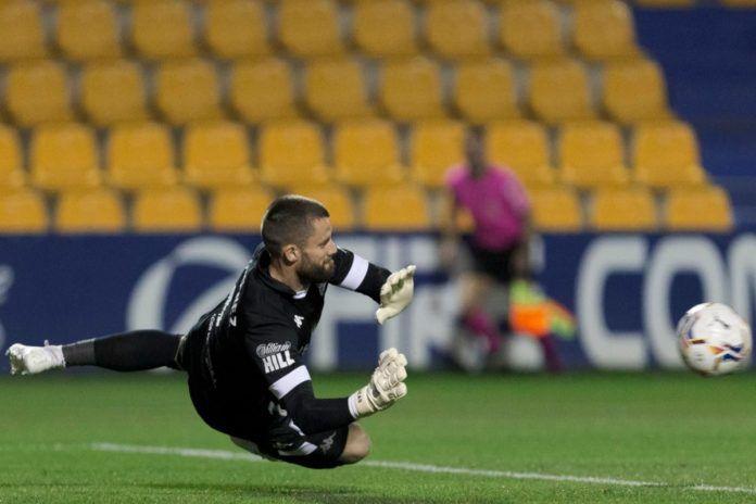 Dani Jiménez, mejor jugador de la temporada en el Alcorcón