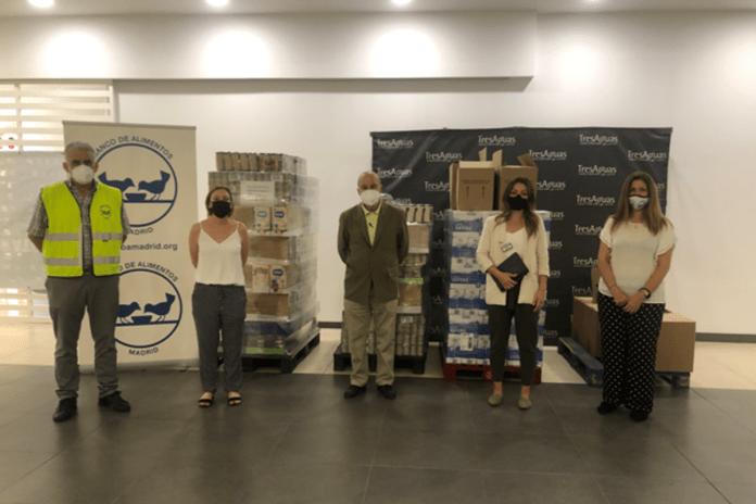 Gran donación solidaria en TresAguas Alcorcón