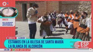 Alcorcón protagoniza un programa de televisión