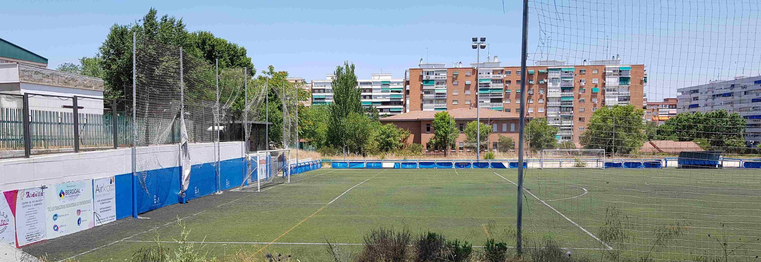 Alcorcón destina un millón de euros a cinco campos de fútbol de la ciudad