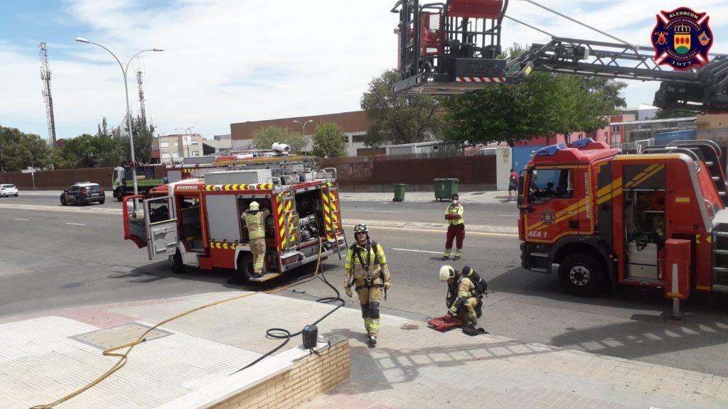 Los incendios azotan Alcorcón los últimos días
