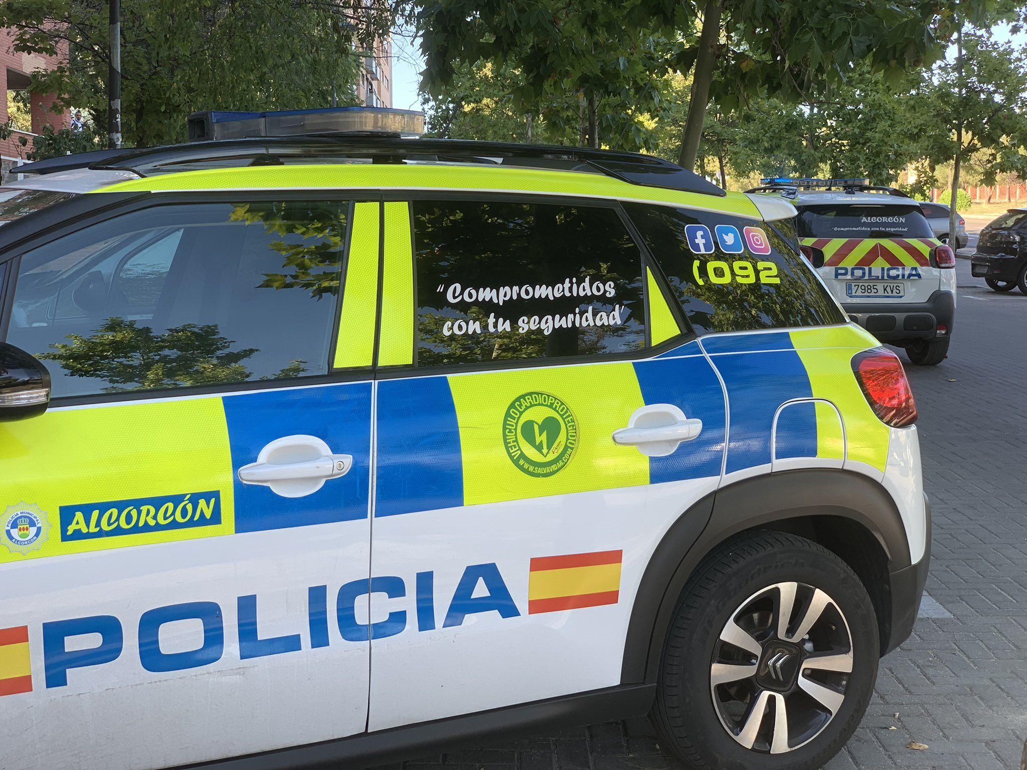 Un hombre trata de agredir a la Policía tras negarse a hacer un control en Alcorcón