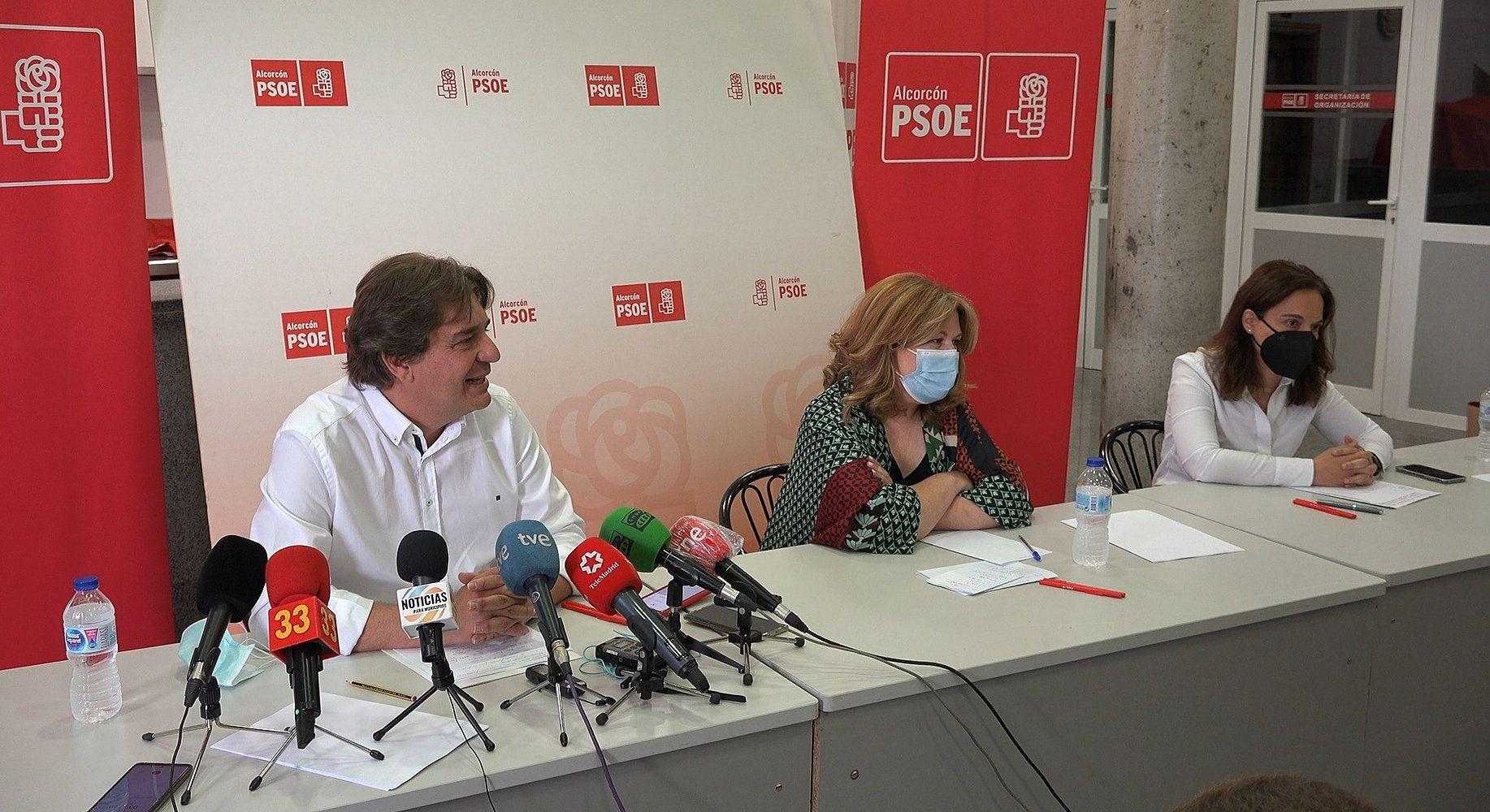La alcaldesa de Alcorcón quiere rearmar al PSOE-M para gobernar