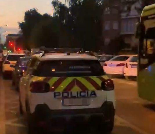 Un ciclomotor atropella a una mujer en Alcorcón