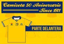 Lanzan a la venta camisetas conmemorativas del 50 aniversario del Alcorcón