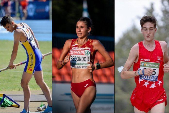 Tres jóvenes de Alcorcón, en el Campeonato de Europa de Atletismo Sub20