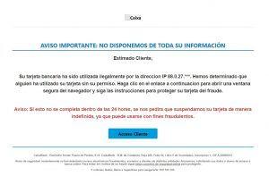Nuevo intento de estafa a empresas en Alcorcón
