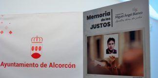 Emotivo acto por Miguel Ángel Blanco y las víctimas del terrorismo en Alcorcón