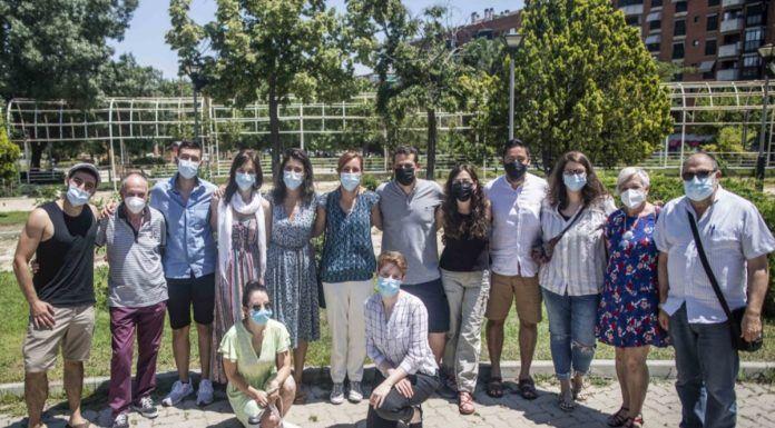Mónica García visita Alcorcón para reunirse con la Plataforma de Afectados por la Hipoteca