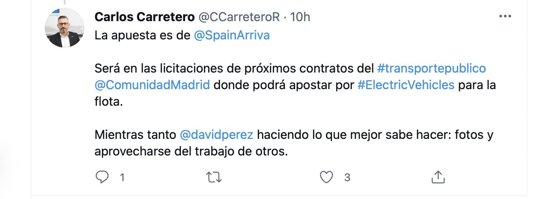 Autobús eléctrico con polémica en Alcorcón