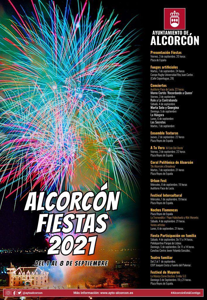 Así serán las fiestas de Alcorcón de 2021