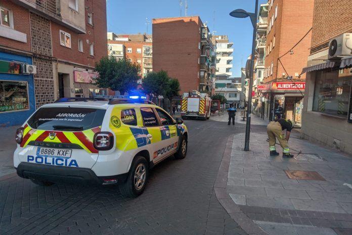 Días ajetreados para la Policía y los Bomberos de Alcorcón